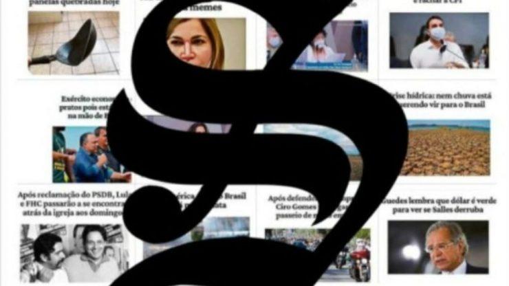 sensacionalista e o globo - parceria - humor - jornalismo isento de verdade