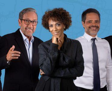 Afiliada do SBT prepara noticiário diário com 5 apresentadores