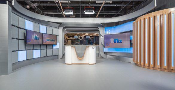 TV TEM apresenta novos cenários em telejornais