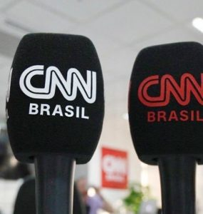 cnn brasil - microfones
