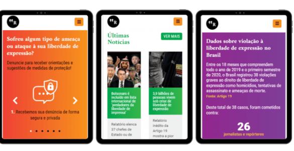 Entidades lançam Rede Nacional de Proteção de Jornalistas e Comunicadores