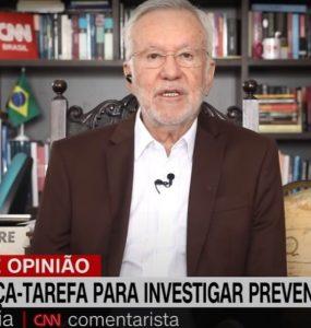 CNN Brasil rescinde contrato com Alexandre Garcia