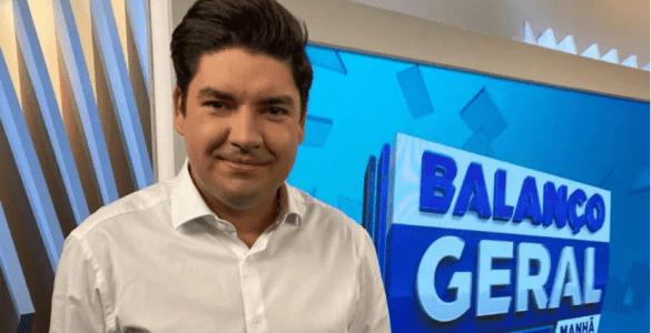 """Bruno Peruka se despede da Record """"um até breve"""""""