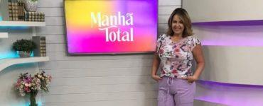 Mônica Cunha - Manhã Total - TV Paranaíba - Aldair dos Santos - Imprensa & Mídia