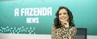 fabiana oliveira - a fazenda news - record news - reality show