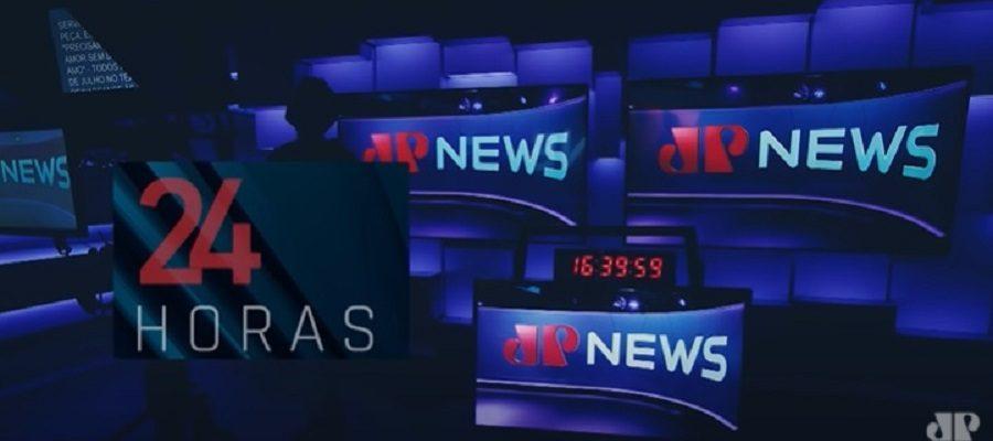 tv jovem pan news - estúdio